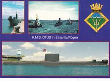 Germany 2008 HMS Otis in Sassnitz/Rugen Postcard Used VGC