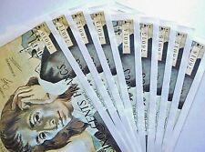 9 billets de 500 francs PASCAL suite de numéros