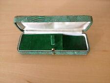 Used Vintage Case Box Case - 14 x 5 X 2,5 CM Light Green Colour Antique