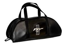 Mustang Tote Bag Black Large by Scott Drake Made in the USA