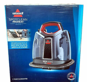 Bissell Spot Clean ProHeat Home Upholstery Seat Indoor Carpet Cleaner Wash