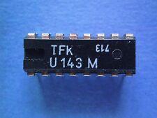 U143M  driver IC for 7-digit TV program displays  TELEFUNKEN