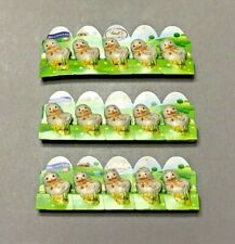 3 X LINDT Milk Chocolate Little Chicks 5 Pack Easter Candy 1.7oz Exp. 08/31/2020