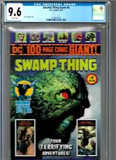 SWAMP THING GIANT #4 CGC 9.6 DC COMICS 2019 WALMART EXCLUSIVE WHITE PAGES