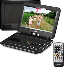 "Ueme Portable DVD Player with Car Headrest Mount Case 10.1"" HD Screen EL0015"