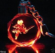 Dragon Ball Dragonball Z Saiyajin Future Trunks Crystal Key Chain LED Pendant