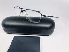 531aebc6a9 New Oakley OX5113-0151 Satin Black Titanium LIZARD Eyeglasses 51mm with Case