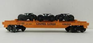 LIONEL 6362 RAIL TRUCK CAR
