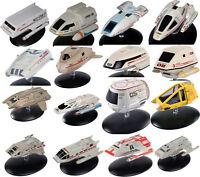 Star Trek Eaglemoss Shuttlecraft Die-Cast Ship Collection- Your Choice of 16