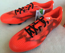 Adidas F5 FG Low Soccer B34862 Solar Red Futbol Boots Cleats Shoes Men's 12 new