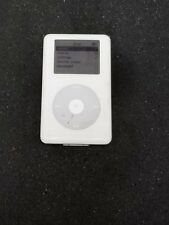 Apple A1059 iPod Classic White 20 GB Factory Reset Heavy Scuffs & Scratches Used