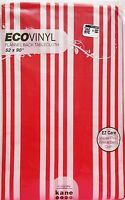 Holiday Tablecloth Stripe Eco Vinyl Red & White Christmas 52 x 90 Rectangle