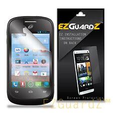 6X EZguardz Clear Screen Protector Shield 6X For ZTE Valet Z665C