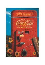 COCA COLA - VINTAGE POSTER  - JUMBO FRIDGE MAGNET #4