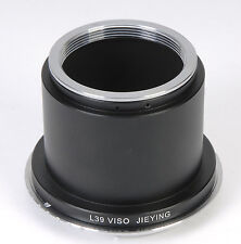Leica Visoflex L39 Lens For Canon EOS 1Ds 5D 5DII 7D 550D 450D 600D 60D Adapter