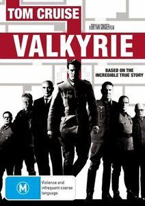 VALKYRIE starring Tom Cruise (DVD, 2009) - LIKE NEW!!!
