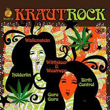 CD Krautrock the World of d'Artistes Divers 2CDs BIRTHCONTROL, Popol Vuh