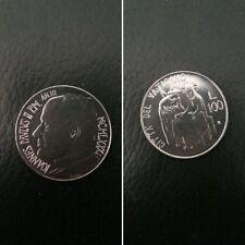 Città del Vaticano moneta 100 lire Papa Giovanni Paolo II del 1981