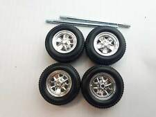 MAISTO Ford Mustang GT 1967 1:24 Spare Parts 4 Wheels With Tyres die cast