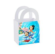 8 Disney Lilo and Stitch Birthday Party Favor Small Bag Goodie Label Box Treat