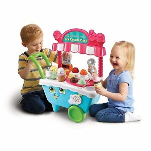 Leapfrog Scoop and Learn Ice Cream Cart 80-600703 Brand New