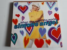 "Simone Angel When Love Rules The World 	12""	Atomic WNRT813"