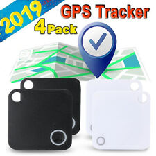 4x Smart Gps Tracker Wireless Bluetooth Anti-Lost Alarm Key Finder Pet Locator