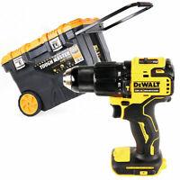 Dewalt DCD709 18v XR Brushless Combi Drill With 28'' Tool Box Chest on Wheel