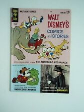 Walt Disney comics and stories, October 1963 The Duckburg Pet Parade FLASH SALE