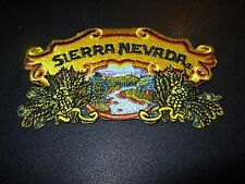 SIERRA NEVADA torpedo pale ale LOGO PATCH iron on craft beer brewery brewing