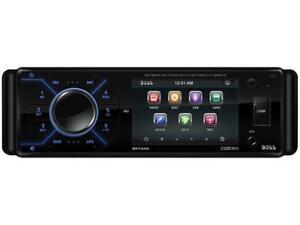 "BOSS Audio BV7345 In-Dash Single-DIN 3.2"" Detachable Face DVD Player"