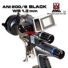 ANI 200/S Black WB 1,3 mm Pistola A Spruzzo Con Manometro Digitale TMD1
