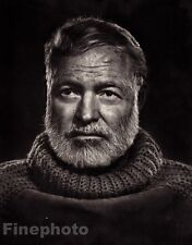 1957/83 Vintage ERNEST HEMINGWAY Literature Writer YOUSUF KARSH Photo Art 11x14
