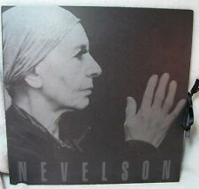 LOUISE NEVELSON; BLACK, WHITE & GOLD Exhibit Catalog THE PACE GALLERY PB 1992