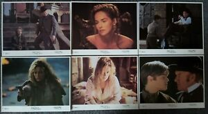 LOT OF 6 ORIGINAL LOBBY CARDS THE QUICK AND THE DEAD Sharon Stone, Russell Crowe