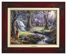 Disney's Snow White - Thomas Kinkade Canvas Classic (Brandy Frame)