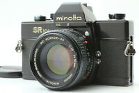 [EXC+++] Minolta SR101 Film Camera Black MC ROKKOR-PF 50mm f/1.7 MD from Japan