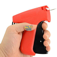 Portable Abs Clothes Garment Price Label Tagging Tagger Gun W/ Fine Pin Needle