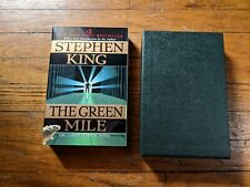 The Green Mile by Stephen King (1996, Paperback) 1st Edition Slipcase Read
