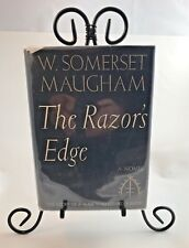 The Razor's Edge by W Somerset Maugham, 1944 1st US Edition, Doubleday