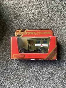 Models of Yesteryear Y-25; Renault WW1 Military Ambulance; Excellent Boxed