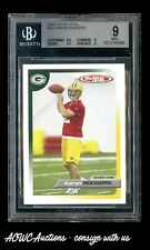 2005 Topps Total #483 Aaron Rodgers RC - BGS Mint 9.0