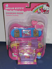 New Hello Kitty Cooking Show Contains 15 Pieces Carry Along Playset