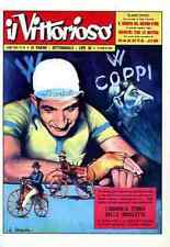 FAUSTO COPPI GINO BARTALI Cyclisme cycling champion cyclist GIRO d'ITALIA 1950's