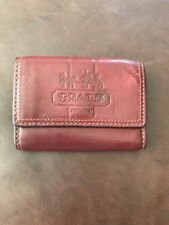 Authentic Burgundy Coach Womens Wallet