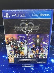 Kingdom Hearts HD I.5 + II.5 ReMIX PS4 1.5 2.5 Sony PS4 PlayStation Game Sealed