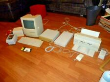 VTG APPLE COMPUTER LOT:MACINTOSH CLASSIC II,STYLEWRITER,CD 150 KEYBOARD,MOUSE +