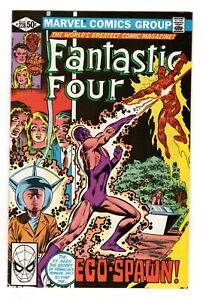 FANTASTIC FOUR 228,VF (8.0)  EGO SPAWN/FRANKLIN RICHARDS (FREE SHIPPING)*