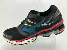more photos 34670 3686d Mizuno Wave Creation 14 Running Shoes Black Training Athletic Sneakers Mens  13