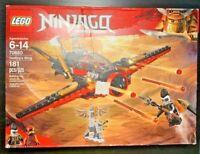 LEGO NINJAGO MASTERS OF SPINJITZU DESTINY'S WING 70650 - NEW SEALED
